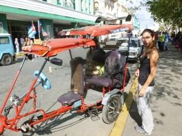 Cuba - Santa Clara - Nouveau moyen de locomotion