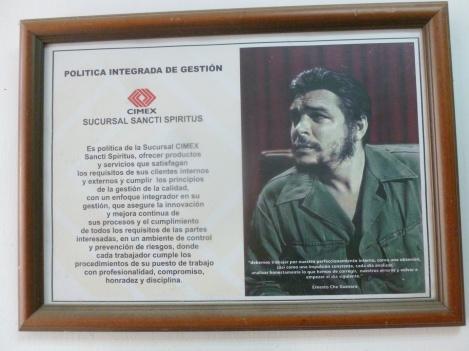 Cuba - Trinidad - Notre supermarché local est bien certifié