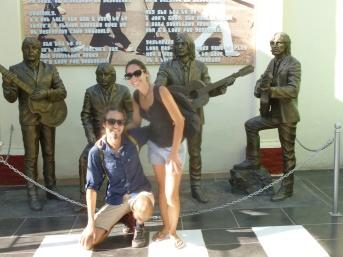 Cuba - Trinidad - Il y a un bar The Beatles à Trinidad. Merci au gérant pour la photo !