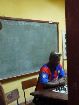 Cuba - Trinidad - Les joueurs d'échecs