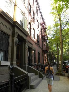 101. Arrivée à Brooklyn Heights, ou le Brooklyn cossu