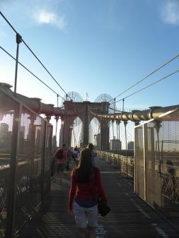 111. Retour sur Manhattan par le pont de Brooklyn