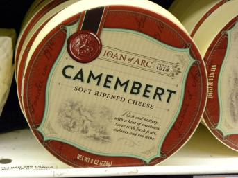 135. Un camembert de la marque Jeanne d'Arc, est-ce que vous avez assez d'indice pour trouver l'origine du produit...