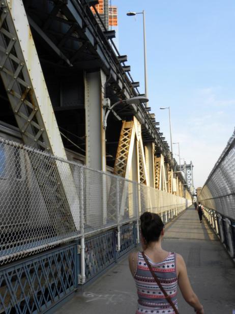 28. Balade bruyante sur le pont de Manhatan