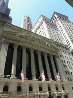 6. Quartier de Wall Street - La Bourse, forcément
