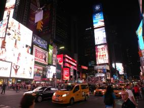 60. Time Square by night