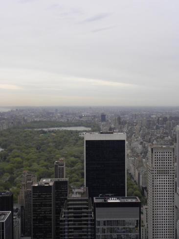 68. Sur le Top of the Rock, belle vue sur le poumon vert de la ville