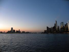 82. Coucher de soleil sur Manhattan
