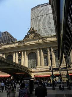 84. L'extérieur de la Central Station