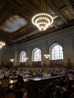 86. Petit tour à la New York Public Library
